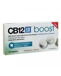 Cb12 Boost Chewing Gum All'eucalipto 10 Pezzi
