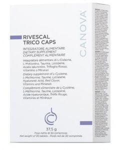 Canova Rivescal Trico Caps 30 Compresse Contrasta La Caduta Dei Capelli
