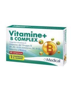 VITAMINE+ B COMPLEX 40CPR