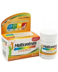 MULTICENTRUM  ENERGY 25 CAPSULE