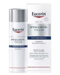 EUCERIN HYALURON FILLER TEXTURE RICCA GIORNO per pelle molto secca