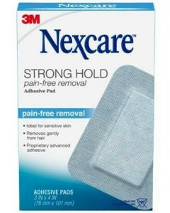 NEXCARE STRONG PADS 4PZ