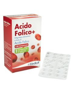 ACIDO FOLICO+ 400MCG 120CPR
