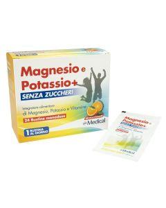 Magnesio Potassio+ 24bust S/z