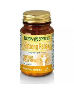 Angelini Body Spring Ginseng Panax Stanchezza Fisica E Mentale Integratore Alimentare 50 Capsule