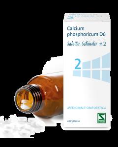 Calcium Phosphoricum D6 Sale Dr.schussler N.2*d6 200 Cpr Flacone