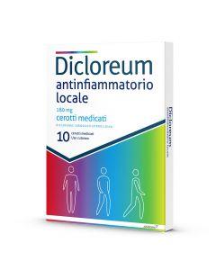 DICLOREUM ANTINFIAMMATORIO LOCALE 180 MG CEROTTI MEDICATI