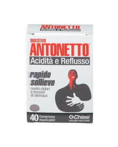DIGESTIVO ANTONETTO A/R 40CPR