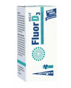 FluorD3 Gocce Integratore Alimentare 6ml