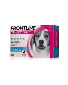 Frontline Tri-act Soluzione Spot-on Per Cani Di 10-20 Kg