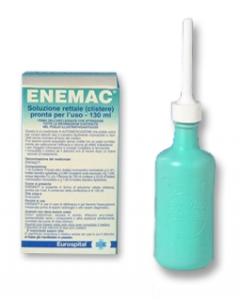 Enemac 16,1+ 6/ 100ml  Soluzione Rettale 130ml