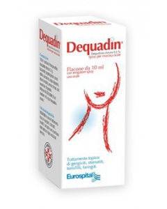 Dequadin 0,5% Spray Flacone 10ml