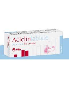 Fidia Aciclin Labiale Aciclovir 5% Crema 2g