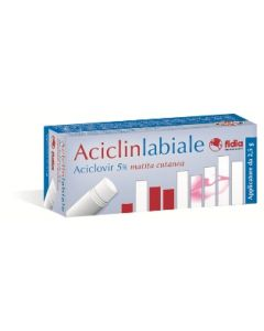 Aciclinlabiale Aciclovir 5% Matita Cutanea 2,5g