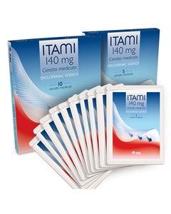 Fidia Itami 5 Cerotti Medicati 140mg