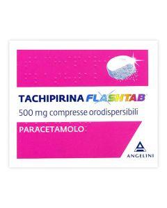 TACHIPIRINA FLASHTAB 500 MG COMPRESSE ORODISPERSIBILI