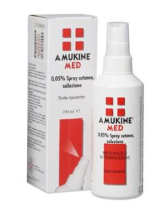 Amuchina Amukine Med 0,05% Spray Cutaneo Flacone 200ml