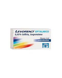 Levoreact Oftalmico 0,05% Collirio Per Occhi Allergici 4ml