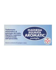 Magnesia Bisurata Aromatic  80 Pastiglie