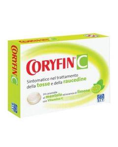 Coryfin Con Vitamina C Pastiglie Gusto Limone 24 Caramelle