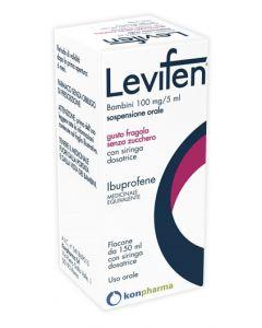 Levifen 100mg/5ml  Sospensione Orale Fragola 150ml