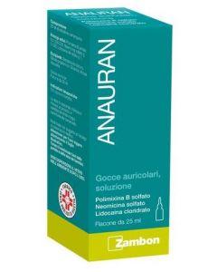 Anauran Gocce Auricolari Flacone 25 ml