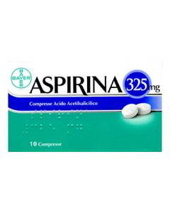 ASPIRINA 325 MG COMPRESSE