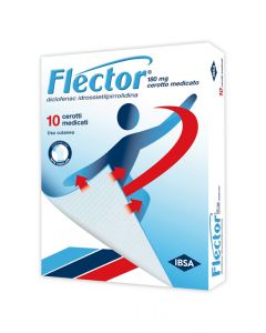 FLECTOR 180 MG CEROTTO MEDICATO