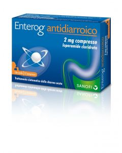 Enterog Antidiarroico 12 Compresse 2 mg