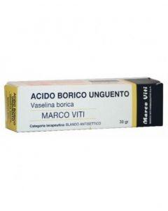 Vaselina Borica Marco VIti 3% Unguento 30g