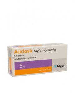 Aciclovir Mylan 5%  Crema 3g