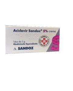 Aciclovir Sandoz 5% Crema 3g