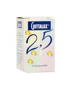 GUTTALAX 2,5 MG CAPSULE MOLLI