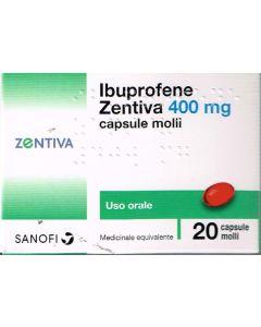 Ibuprofene Zentiva 20 Compresse 400 Mg