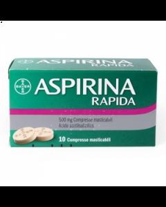 ASPIRINA RAPIDAD 500 MG COMPRESSE MASTICABILI