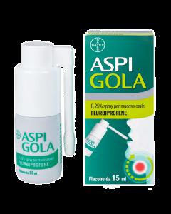 ASPI GOLA 0,25% Collutorio ASPI GOLA 0,25% Spray per mucosa orale