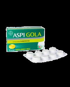 Aspi Gola 24 Pastiglie Limone Miele