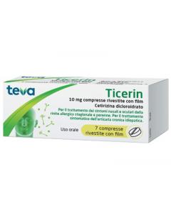 Ticerin 10mg 7 Compresse Rivestite