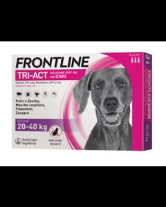 FRONTLINE TRI-ACT SOLUZIONE SPOT-ON PER CANI DI 20-40 KG
