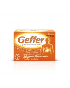 Geffer Granulato Gusto Arancia Lenta 24 Bustine 5g
