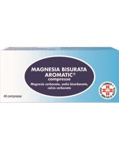 Magnesia Bisurata Aromatic 40 Pastiglie