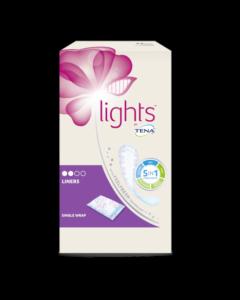 Tena Normal Lights By Tena Proteggi Slip Ripiegati  22 Pezzi