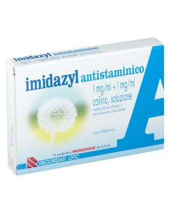 IMIDAZYL ANTISTAMINICO 1 MG/ML + 1 MG/ML COLLIRIO, SOLUZIONE