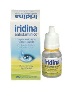 IRIDINA ANTISTAMINICO 1 MG/ML + 0,8 MG/ML COLLIRIO, SOLUZIONE