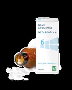 Kalium Sulfuricum D6 Sale Dr.schussler N.6*d6 200 Cpr Flacone
