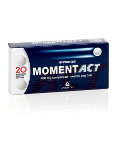 MOMENTACT 400 MG COMPRESSE RIVESTITE CON FILM.