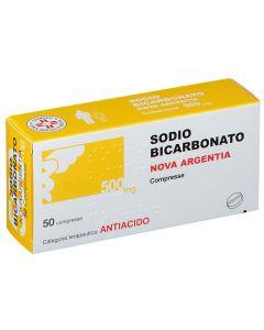 SODIO BICARBONATO NOVA ARGENTIA 500 MG COMPRESSE.