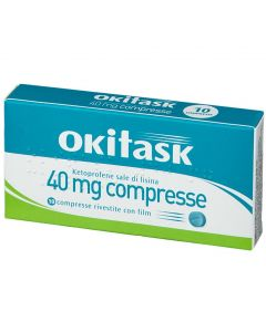 OKITASK 40 MG COMPRESSE RIVESTITE CON FILM KETOPROFENE SALE DI LISINA