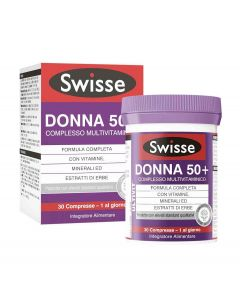 SWISSE MULTIVITAMINICO DONNA50+ 30 COMPRESSE