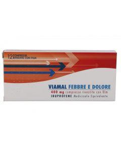 Viamal Febbre e Dolore 12 Compresse 400 mg
